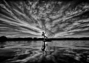 PhotoVivo Gold Medal - Pui-Chung Yee (Singapore)  Inle Fisherman Sunset