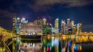 PhotoVivo Gold Medal - Han Kim Teo (Singapore)  Marina Bay At Night