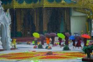 Circuit Merit Award e-certificate - Kyaw San Linn (Myanmar)  Raining On The Pagoda