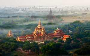 FIP Gold Medal - Phillip Kwan (Canada)  Pagoda Of Bagan
