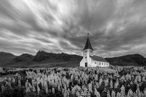 PhotoVivo Gold Medal - Katherine Wong (Canada)  Myrdal Church At Dusk