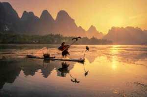 PhotoVivo Gold Medal - Yanping Qiu (China)  Fisherman