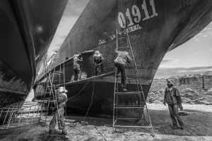 APAS Gold Medal - Pinguan Zheng (China)  Mending Ship