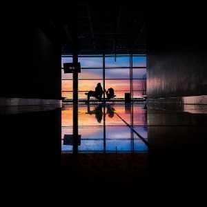PhotoVivo Gold Medal - Yu Wang (China)  Airport Lounge