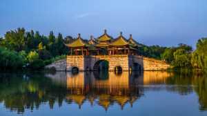 PhotoVivo Gold Medal - Limin Wu (China)  Pavilion And Bridge