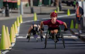 APU Spring Gold Medal - Yongxiong Ling (Australia)  Wheelchair Race 13