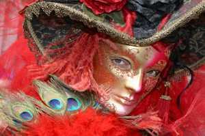 Circuit Merit Award e-certificate - Laurie Friedman (USA)  Carnevale Portrait In Red