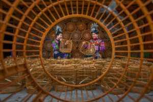 Circuit Merit Award e-certificate - Shun Zhang (China)  Manual Bamboo Basket