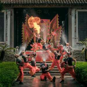 PhotoVivo Gold Medal - Xuzhong Liu (China)  Drunken Dragon Dance