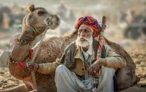 PSM Silver Medal - Quisen Li (China)  Camel Old Man