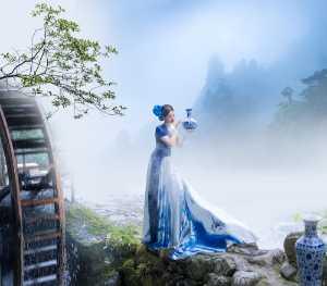 Circuit Merit Award e-certificate - Qiuping Yang (China)  Tender Blue And White Porcelain