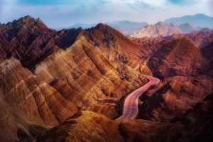 APU Gold Medal - Xiaoqing Jiang (China)  Beauty Of Land Lines