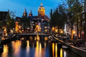 PhotoVivo Honor Mention e-certificate - Donald Dedonato (USA)  Amsterdam At Dusk