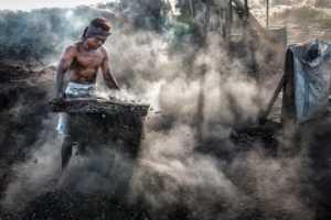 FIP Ribbon - Chong Kit Han (Malaysia)  Charcoal Worker