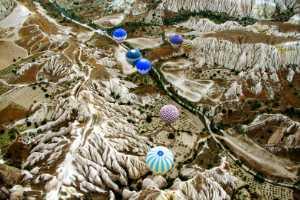 PhotoVivo Gold Medal - Amal Alameer (Saudi Arabia)  Blue Hot Ballons